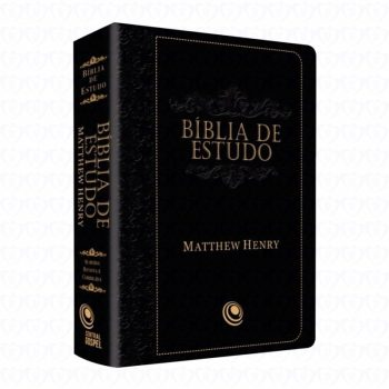 Biblia de Estudo Mattew Henry (Preta)