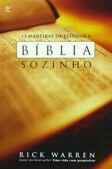 12 Maneiras de Estudar a Bíblia