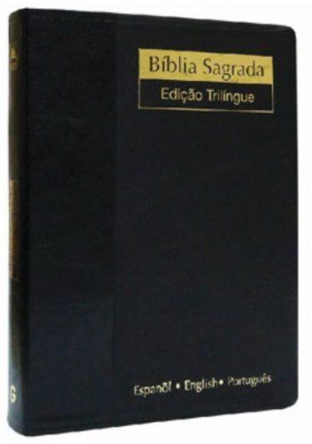 Biblia Trilíngüe (Preta)