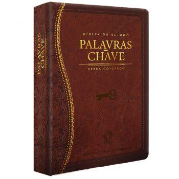 Bíblia de Estudo Palavras-Chave (Marrom)