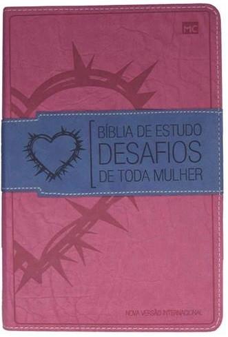 Bíblia Desafios de Toda Mulher (Rosa/Azul)