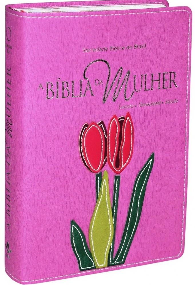 Bíblia da Mulher - Orquídea (Média)