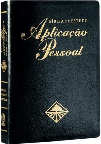 Bíblia Aplicação Pessoal (Preta)