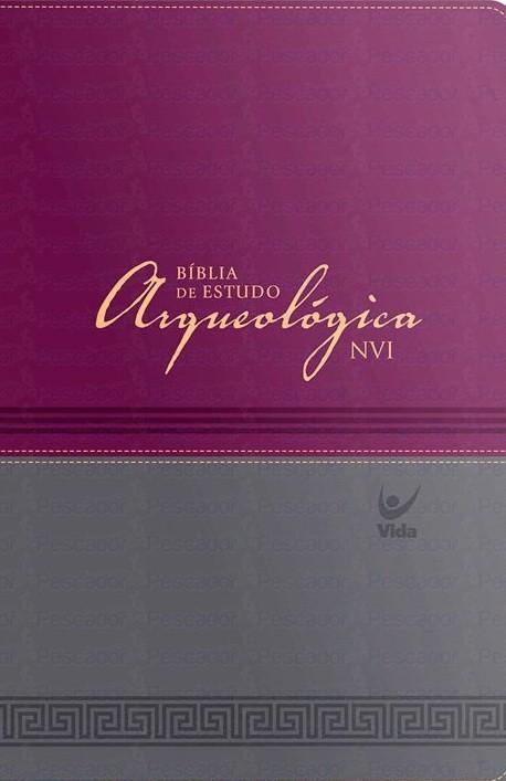 Bíblia de Estudo Arqueológica (Vinho)