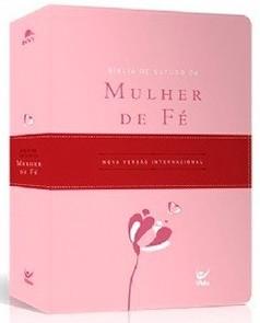 Bíblia de Estudo da Mulher de Fé (Rosa Claro)