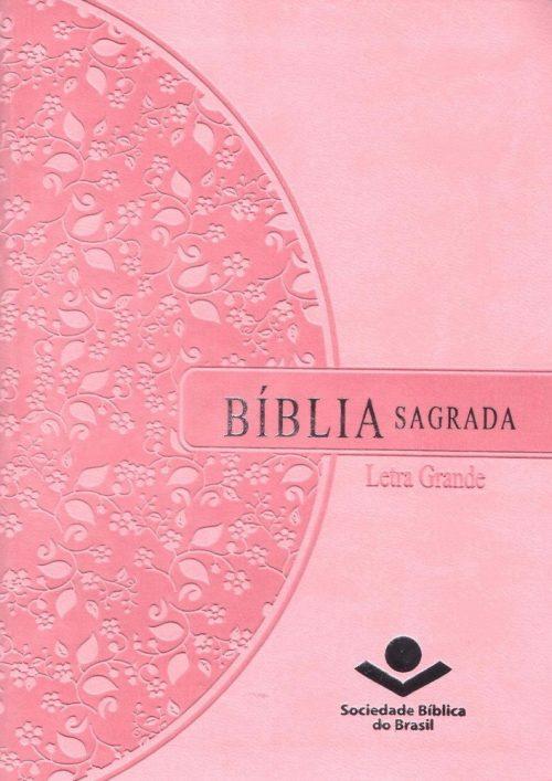 Biblia Letra Grande Rosa-RA
