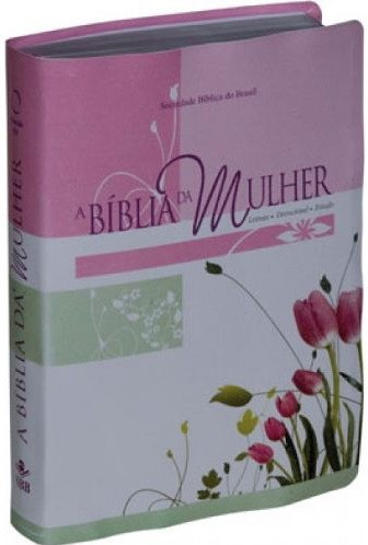 Biblia da Mulher Tulipa Media