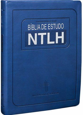 Bíblia de Estudo NTLH - Grande (Azul)