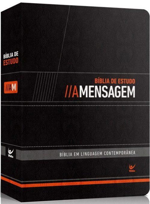 Bíblia - A Mesagem (Luxo Preta)