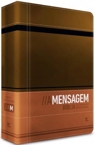 Bíblia - A Mensagem (Marrom e Café)