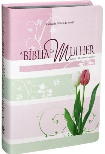 Bíblia da Mulher (Tulipa Média)