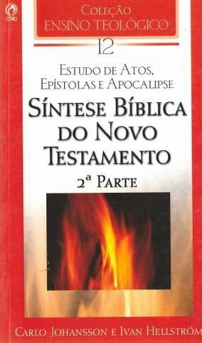 Síntese Bíblica do Novo Testamento (2ª Parte)