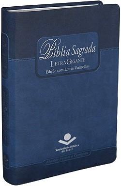 Bíblia Média Ind. PJV Azul