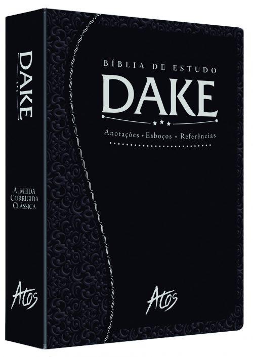 Bíblia Dake (Preta Trabalhada)