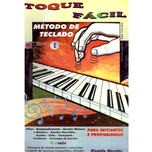 Toque Facil-Teclado Volume 1