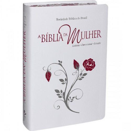Biblia da Mulher Grande Branca